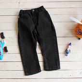Чёрные джинсы для мальчишки 1,5-2 лет (рост 86-92 см).