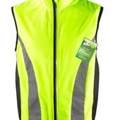 ☘ Спортивный светоотражающий жилет для бега, Tchibo (Германия), размеры наши: 50-52 (L евро)