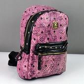 Яркий летний рюкзак, премиум качество,розовый.