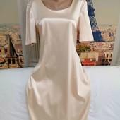 Стрейчевое платье с нежным блеском, Britta, размер L - XL