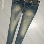 Мега стильные джинсы р. 46 хорошего сост