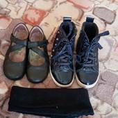 Ботиночки+ туфли+ колготки