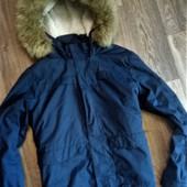Стильная фирменная куртка парка на 11-12 лет
