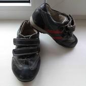 Скидка УП-10%.Кожаные кроссовки lilin shoes,размер 25,стелька 15 см