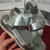Неимоверно красивые босоножки в серебре, на любой подъем! Супер!