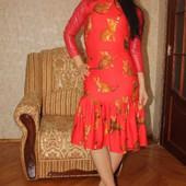 Платье для кошатницы:)