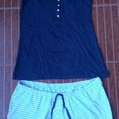 4 моделей на выбор! Шикарные летние комплекты, пижамы производства Германия р. евро M, L