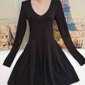 Лёгкое трикотажное платье с рукавами сетка, Vero Moda, размер М.