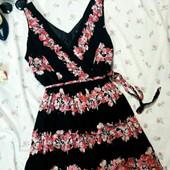 Шикарное платье с пояском, XL-XXL