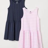H&M платье в лоте синие 1шт
