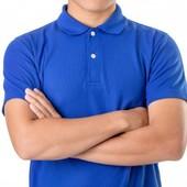 Классическая новая мужская футболка поло 48,50,52,54,56.100% хлопок.