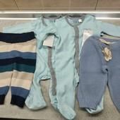 Набор для новорожденного мальчика , р 50, 4 предмета