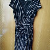 Платье женское в горох