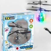 Літаючий куля сенсорне управління, аккум., Зарядка USB, підсвічування