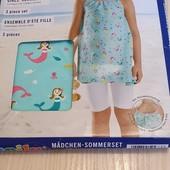 Суперський комплект 3 на дівчинку, розмір 86/92, бренд lupilu германія,