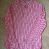 Стильная рубашка в полоску в отличном состоянии