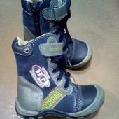 Ботинки, на осень на мальчика 21 размер, 13 см по стельке
