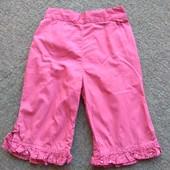 George шорты бриджи на лето легкий коттон на девочку 3-4г 98-104 см  состояние как новые