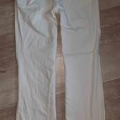 """белые джинсы(ктон)""""street one""""-смотрите фото и описание"""