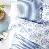 Двухстороннее постельное бельё 100% хлопок Tcm Tchibo, Германия! п-140*200см, н-80*80 см