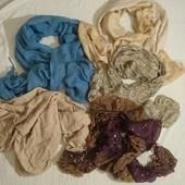 Классные большие шарфы на весну-осень-зима✓2шт.на выбор✓Скидка на УП.10%