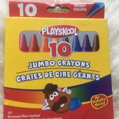 Супер восковые карандаши jambo crayons playskool толстые 10шт.!!!!!