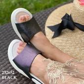 Перламутровые шлёпки.цвет чёрный(фото 2-4)есть отзывы покупателей+++