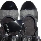 Распродажа 37р-23.5см Esmara складные балетки, премиум в коробке Германия