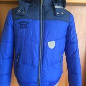 Куртка, демисезон, размер 12 лет 152 см, Here&There C&A. состояние отличноe