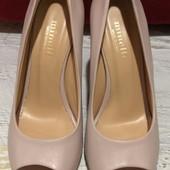 Туфлі із натуральної шкіри від Minelli, розмір 40