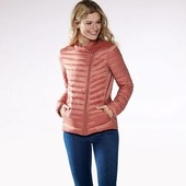 +Подарок!Ультралегкая стеганная термо куртка,отталкивает воду,Лично Рекомендую!Esmara размер евро 40