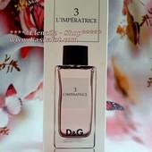 Топ-аромат от Dolce&Gabbana-3 L`imperatrice! Аромат желания и страсти! 60ml tester-luxl!