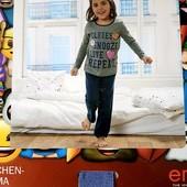 Дуже гарна піжамка на дівчинку. бренд pepperts Германія.розм 134/140 в упаковці