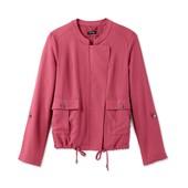 ☘ Куртка-ветровка ягодного цвета в стиле casual, Tchibo(Германия), размеры наши: 46-48 (40 евро)