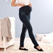 ☘Удобные качественные джинсы беременным,моделируют фигуру,Tchibo(Германия), р. наши: 44-46 (38 евро)