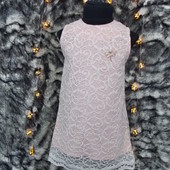 Платье нарядное для девочек 1-4 года размер на выбор