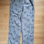 Домашние коттоновые штаны 12-14 лет.рост 158-164.