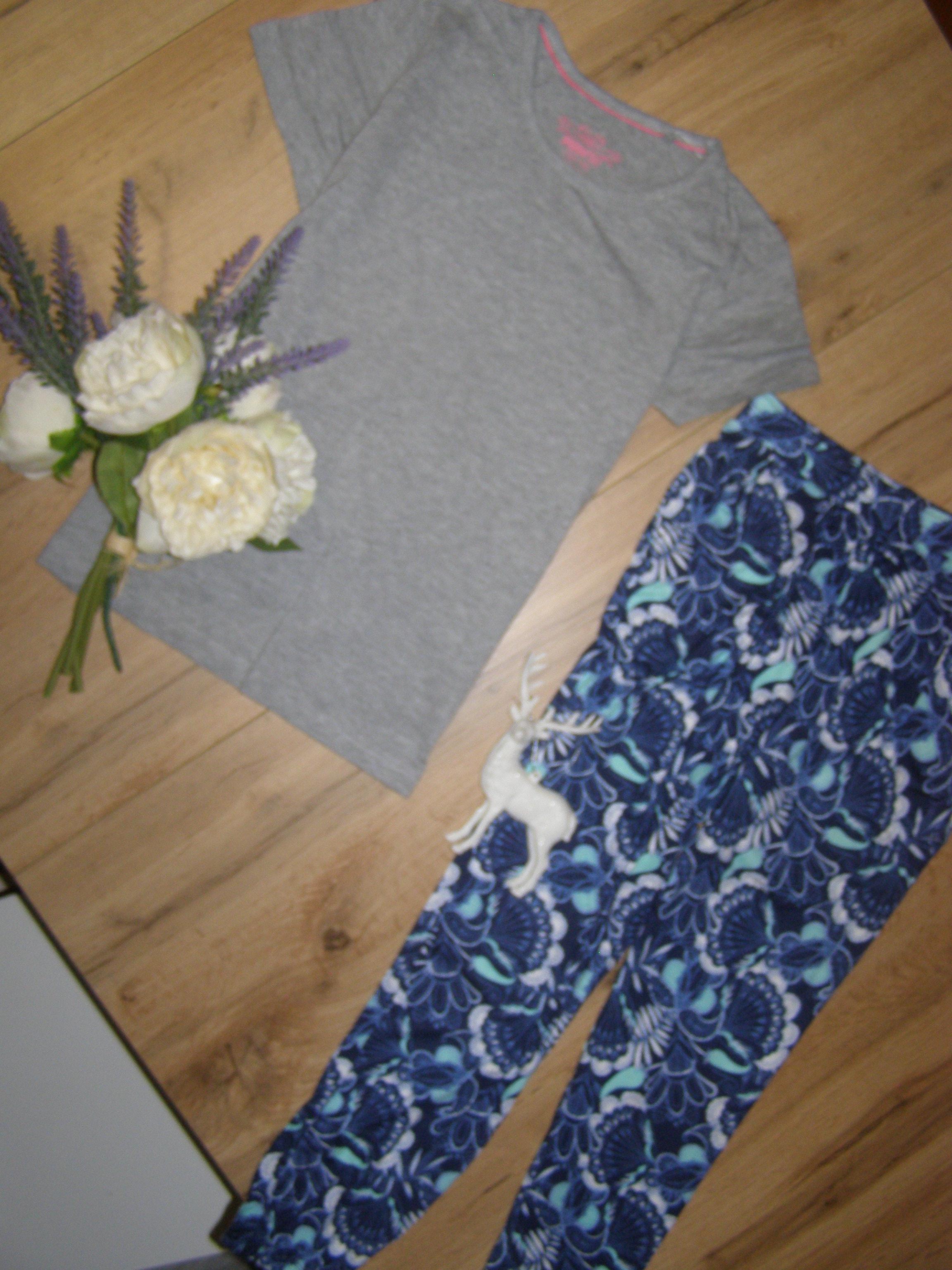 Комплект для девочки из вискозы от Lupilu штаны-гавайки+ футболка -рост 134-140 Новый - Фото №4