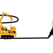 Индукционная интерактивная развивающая машинка Inductive Truck ( едет по нарисованной линии)