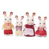 Calico critters семья шоколадных кроликов