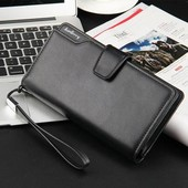 Мужской кошелек Wallerry business S1063 ( черый)