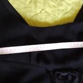 Аккуратное черное платье