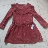 Тепла фланелева сукня LC Waikiki 6-7 років