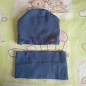 Набір шапка+хомут, зима