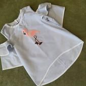 Стильная блуза на девочку от 3 до 5 лет handmade!