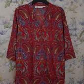 пог 61 см Красивая яркая блуза Paola ! УП скидка-10%