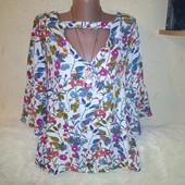 Интересная блузочка 50 размера.