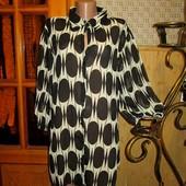 Качество! Стильная/удлиненная блуза от американского бренда Mk One, новое состояние, р. 24