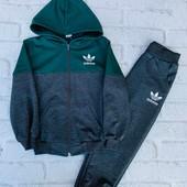 Костюм Adidas Двунитка Хорошего качества