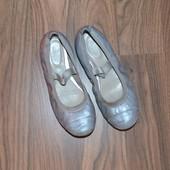 Туфли, балетки Clarks р.13,5, стелька 21,5 см, натуральная кожа